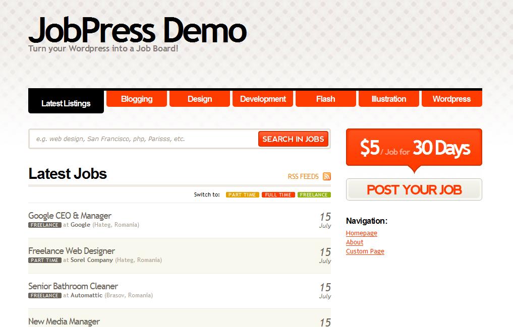Best Job Board Wordpress Themes: WordPress Templates for Job Sites