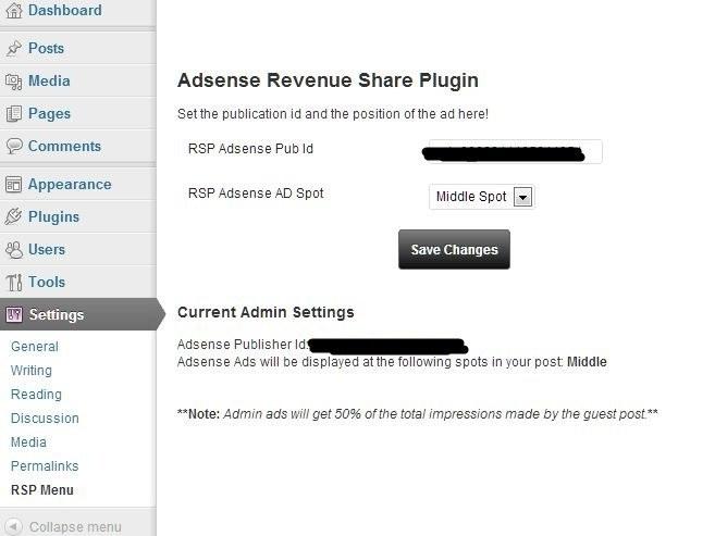 adssense revenue