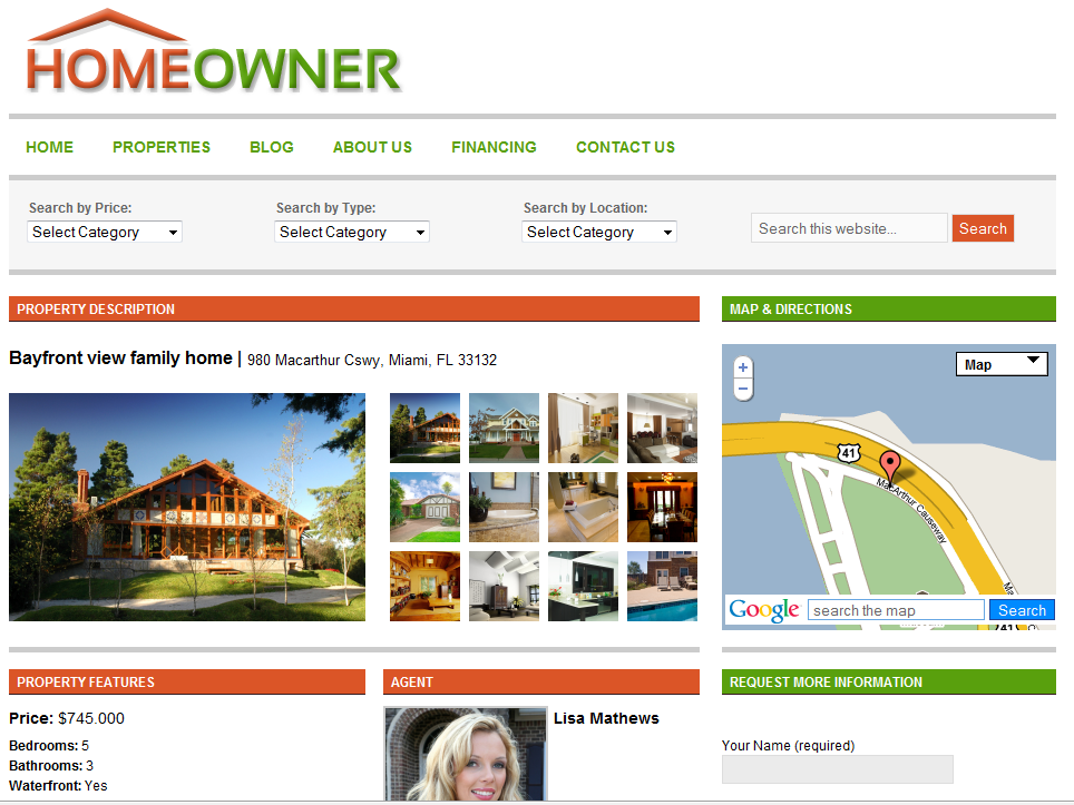 Best Real Estate Wordpress Themes - Wordpress Themes for Real ...