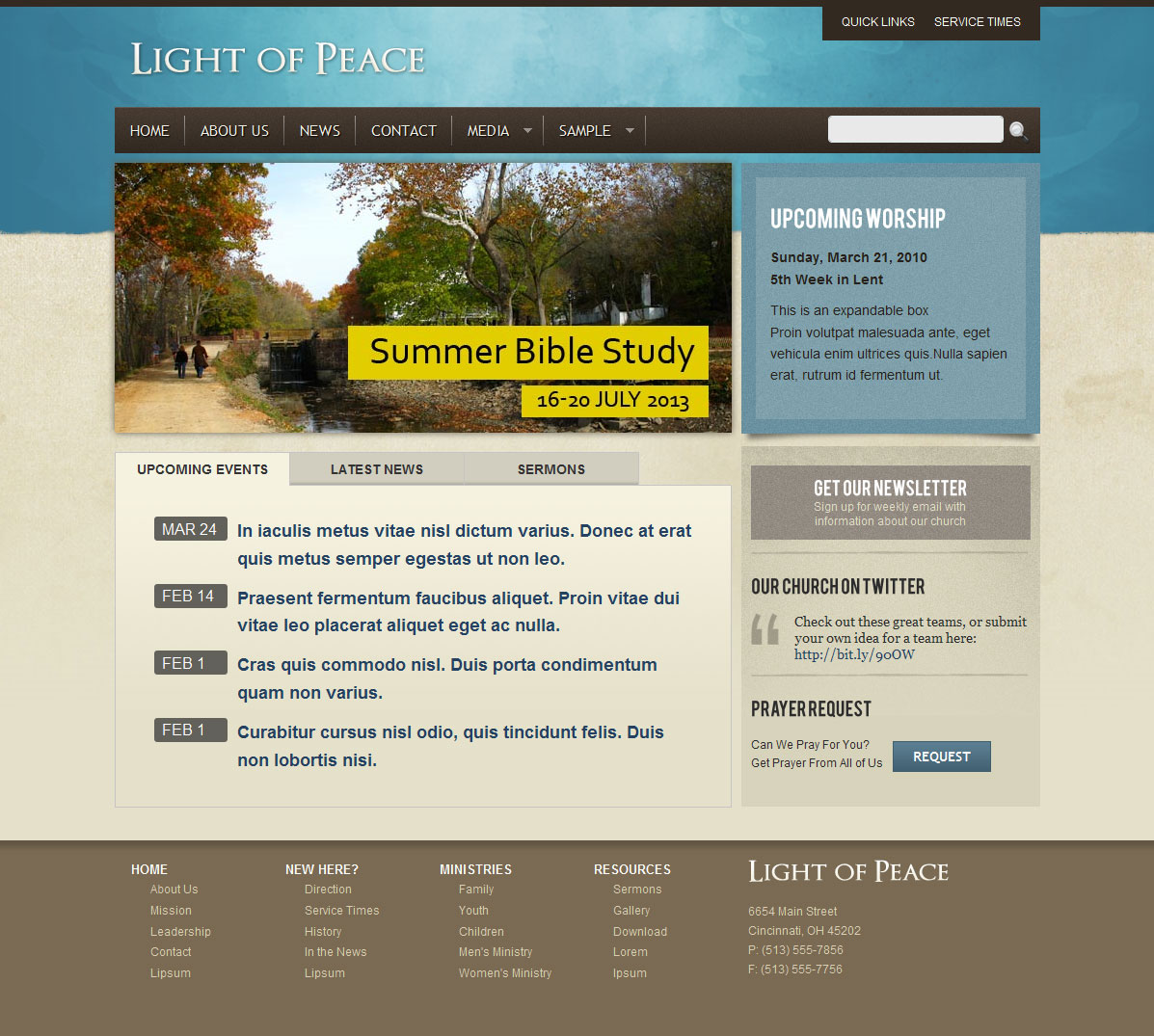 Best Wordpress Church Themes Wp Themes For Christians