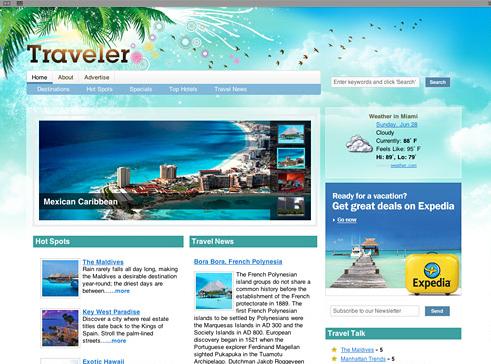 Start a Travel Portal with Traveler Theme for Wordpress | WP Solver