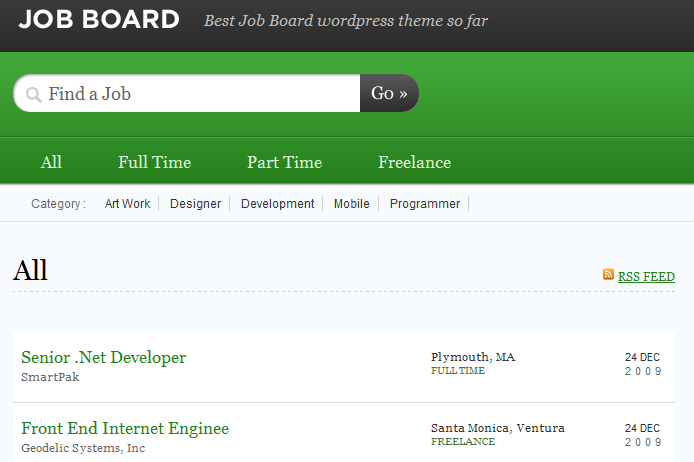 jobify a beautiful job board theme by astoundify it integrates with the wp job manager simple paid listings restrict content pro testimonials