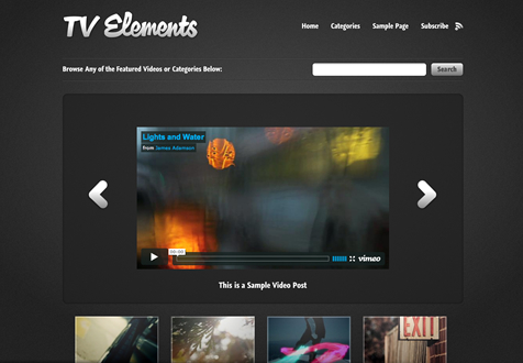 Start Video Blogging with TV Elements 3 - WP Solver