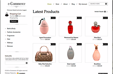 WordPress E-commerce Themes - Best Shopping Cart Themes