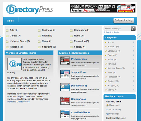DirectoryPress: Start an Online Directory with WordPress - WP Solver