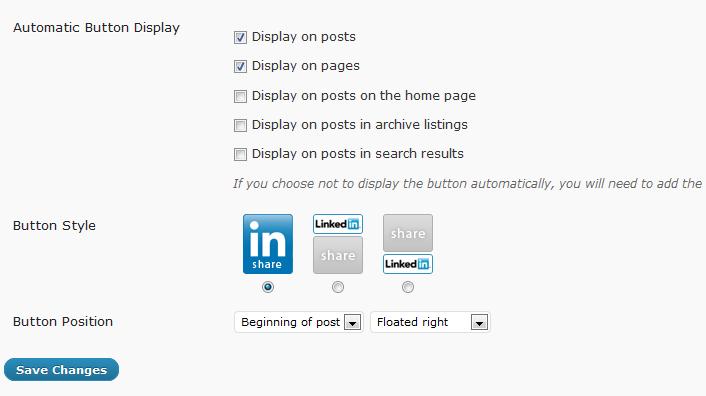 WordPress LinkedIn Plugins - LinkedIn for WP