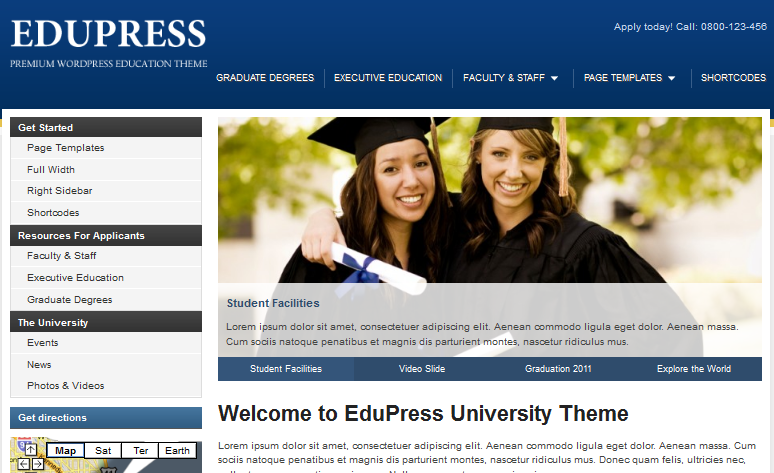 WordPress University Themes - Best WordPress Themes for
