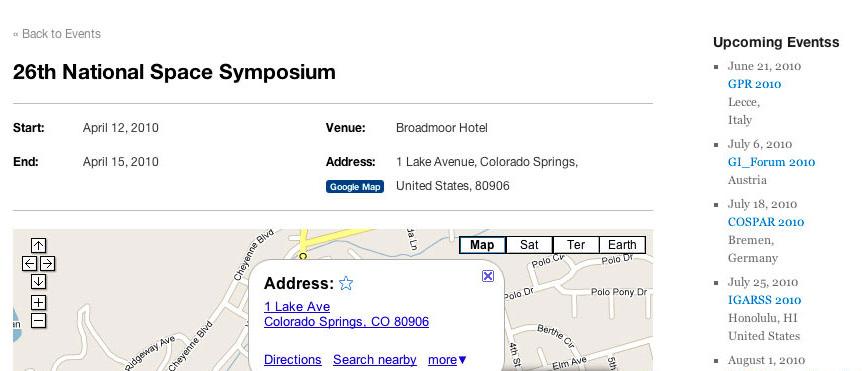 wordpress events calendar. Events Calendar Pro makes it