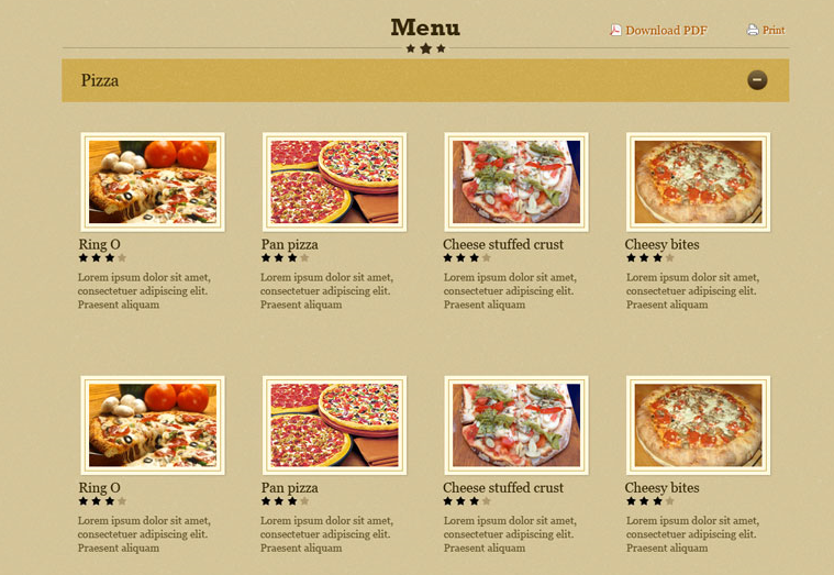 foodilicious wordpress theme for restaurant businesses wp solver