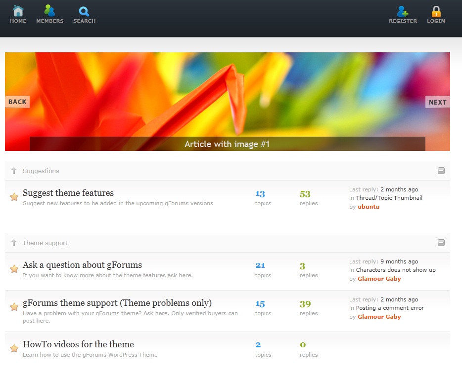 5 Awesome WordPress Forum Themes