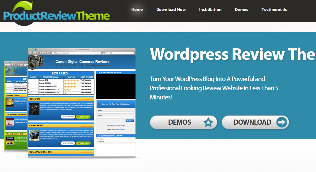 5 best product comparison themes for wordpress wp solver for Product review template wordpress