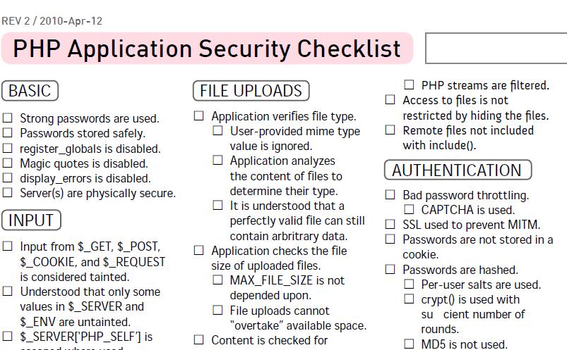 40 Killer Cheat Sheets for WordPress Developers - WP Solver