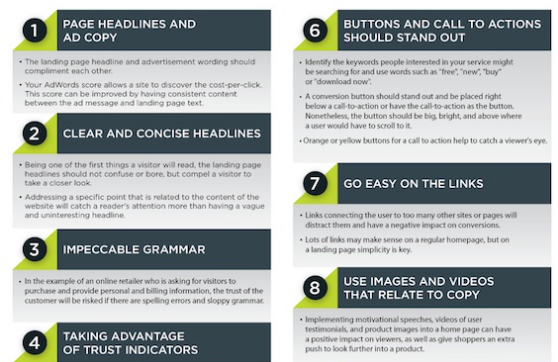 5 Awesome Infographics on Landing Page Optimization - WP Solver