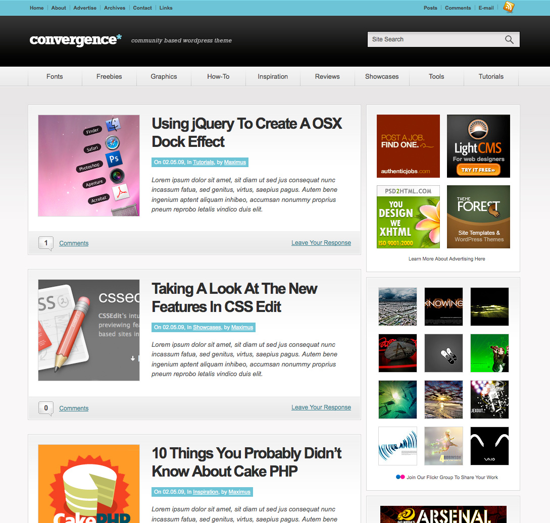 10 Awesome WordPress Themes For Tutorial Sites