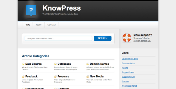 9 Best Knowledge Base Themes for WordPress