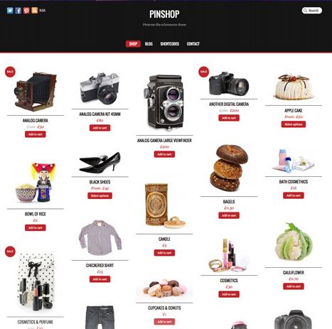 WordPress E-commerce Themes - Best Shopping Cart Themes