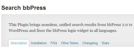 bbpress · Search Results · BuddyPress.org