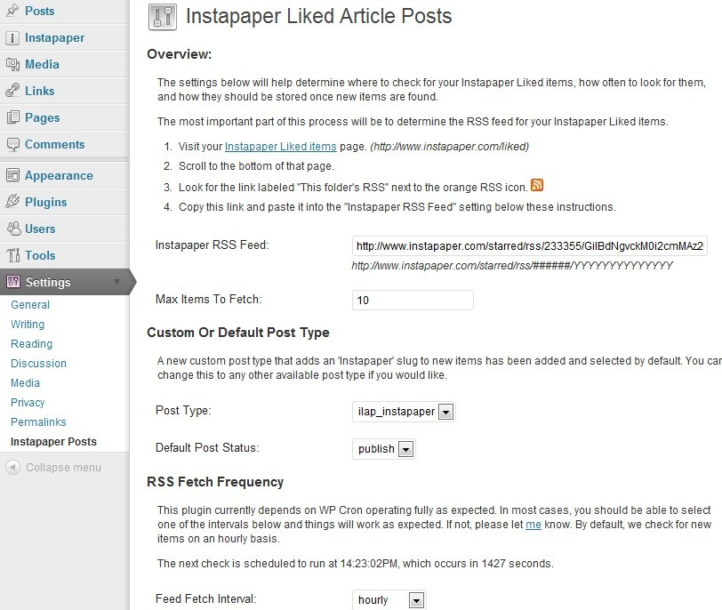 5 Must See WordPress Plugins for Instapaper - WP Solver