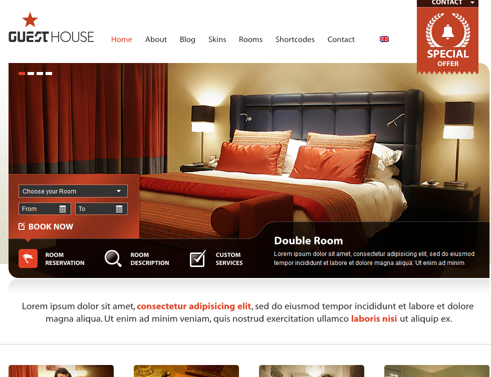 10 WordPress Themes Bars, Hotels, and Cafes - WP Solver