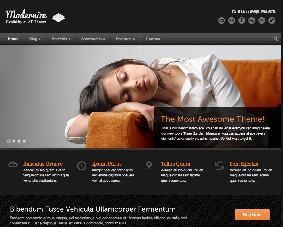 10 cool responsive corporate business themes for wordpress wp solver