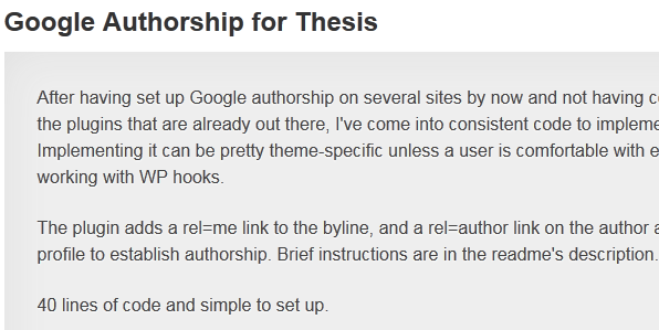 Thematic or Thesis – choosing a WordPress Theme