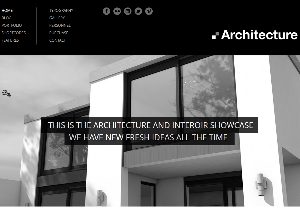 architecture wordpress theme for architects wp solver. Black Bedroom Furniture Sets. Home Design Ideas