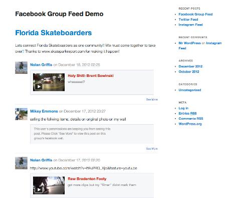 feed social
