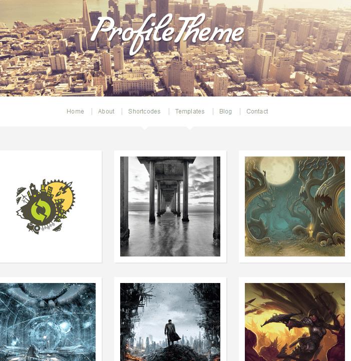 profile theme