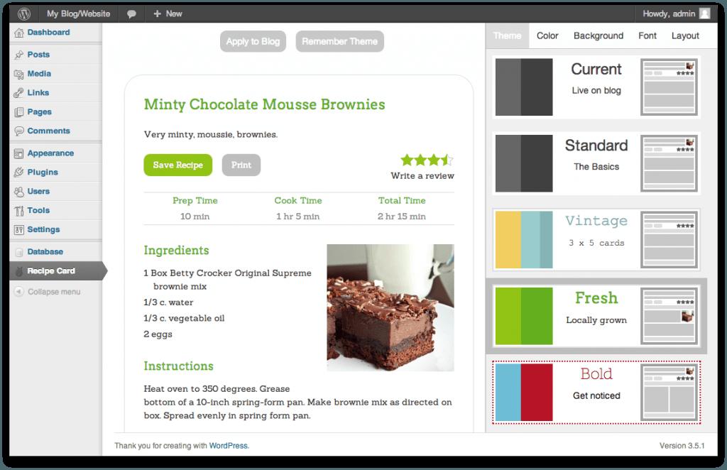 Recipe Card WordPress Plugin for Recipe Sites - WP Solver