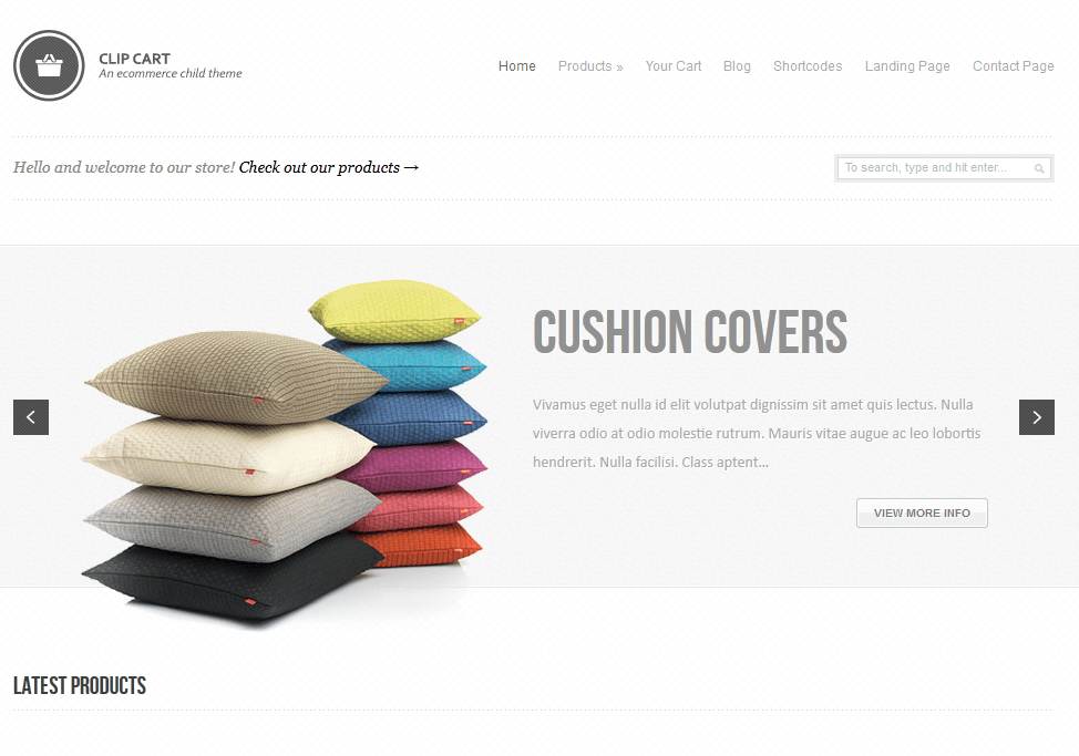 thesis theme wp e-commerce