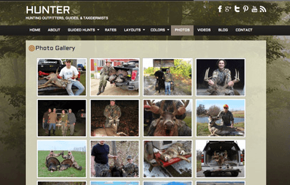 hunter gallery