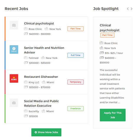 Best Job Board WordPress Themes WordPress Templates For Job