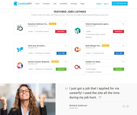 10+ Best Job Board Themes for WordPress