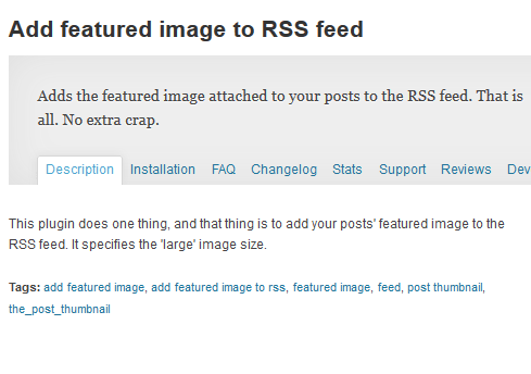featured rss