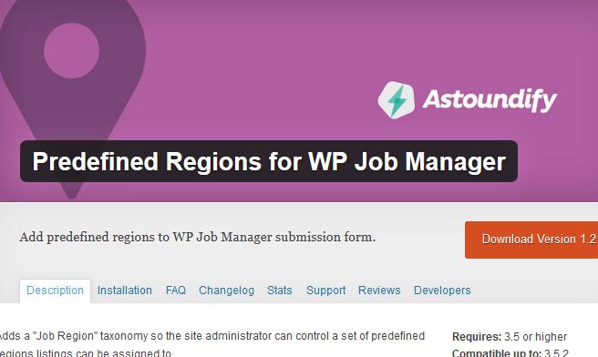 job region