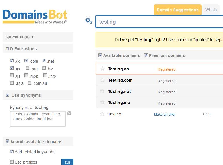 domainsbot