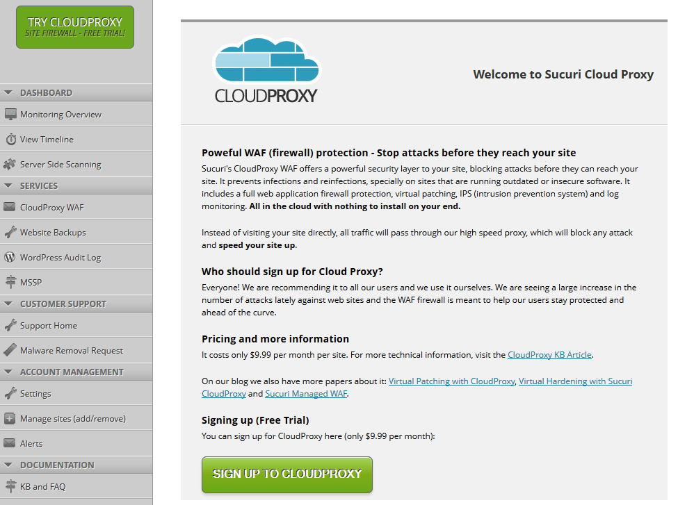 cloud proxy