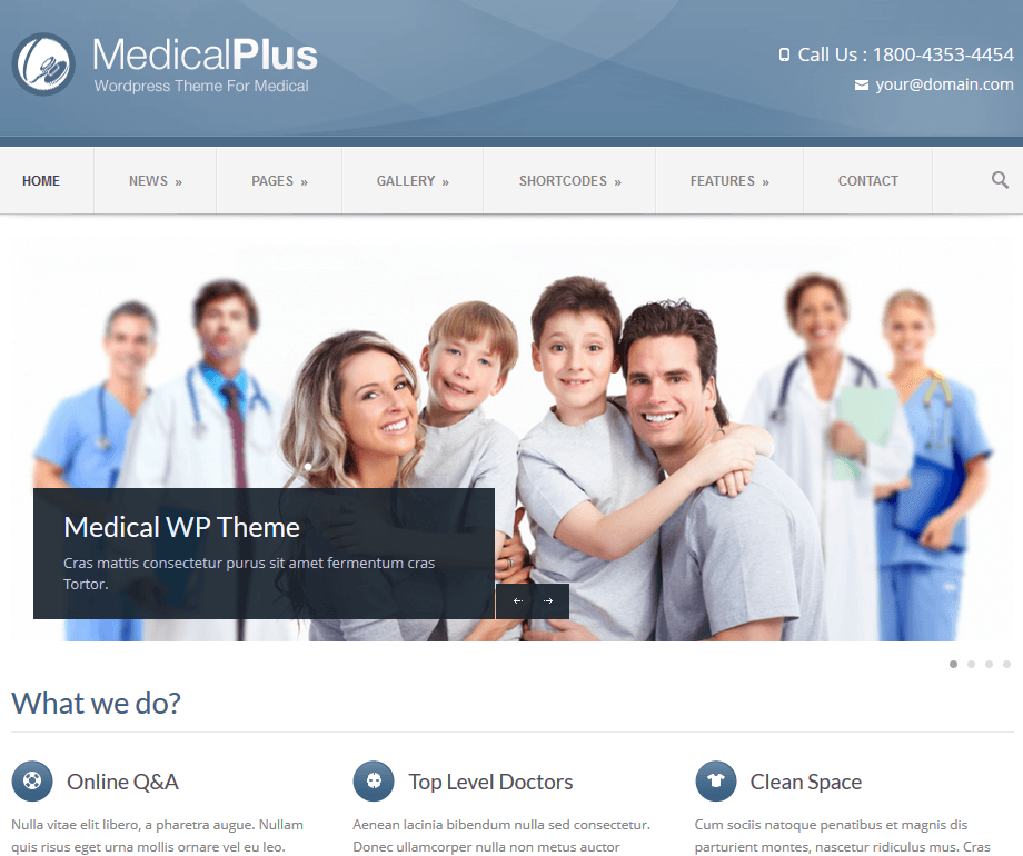 12 Attractive WordPress Themes for Clinics