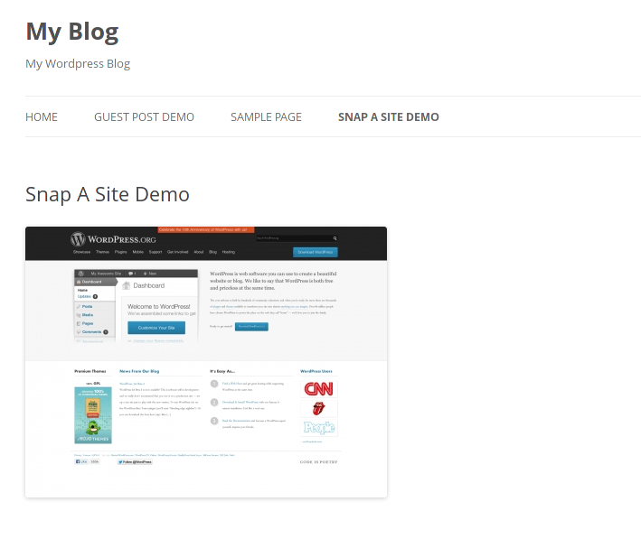 How to Add Website Snapshots to WordPress: 4 Plugins