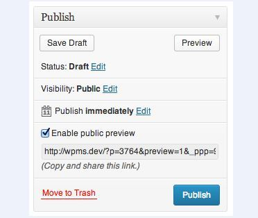 WordPress Tip: How to Let Others Preview Unpublished Posts