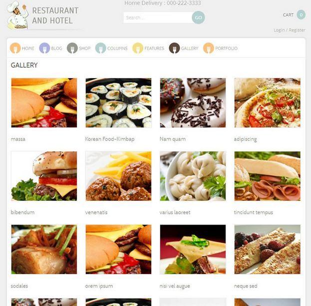 Restaurant: Responsive Restaurant Theme for WooCommerce
