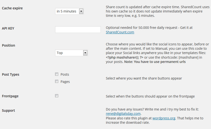 How to Add Mashable-Style Share Buttons To WordPress