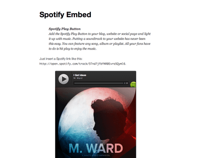 5 Must See Spotify Plugins for WordPress - WP Solver