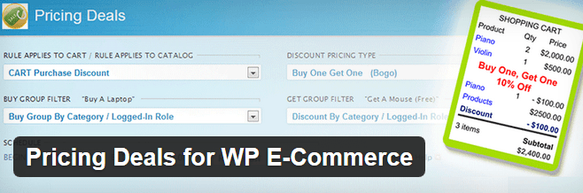 3 Bulk-Discount Plugins for WooCommerce / wp e-Commerce