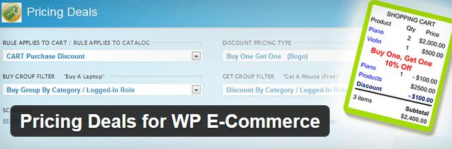 3 Bulk-Discount Plugins for WooCommerce / wp e-Commerce