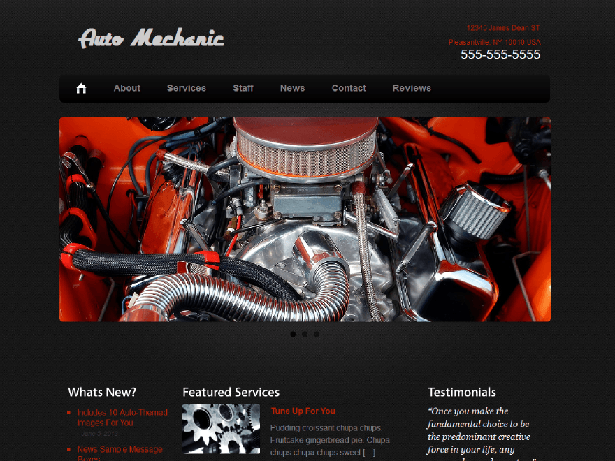 6 WordPress Themes for Mechanics