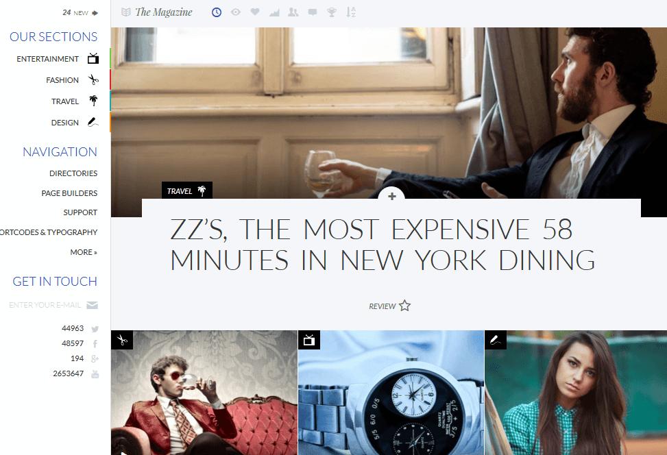 Implicit: Elegant, Responsive Magazine Theme