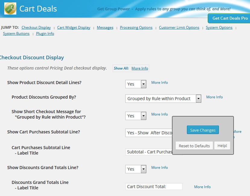 cart deals