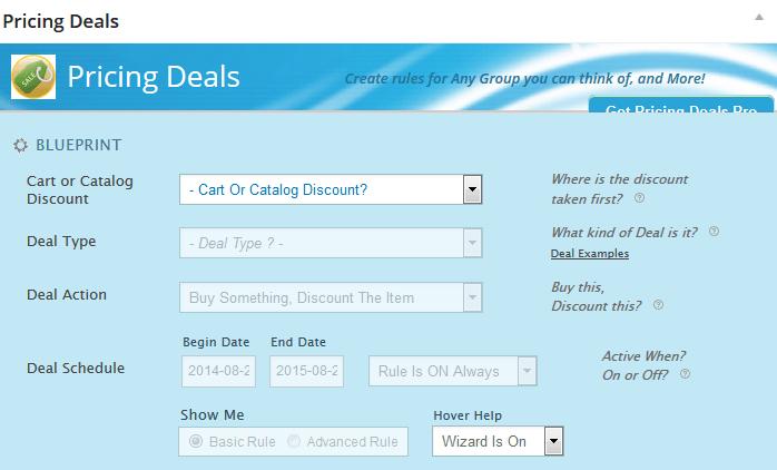 pricing deals