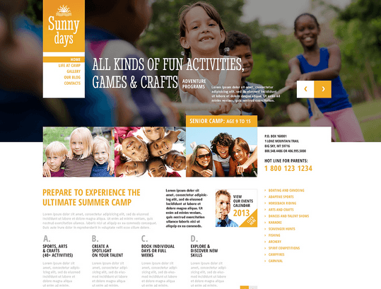 7 WordPress Themes for Kindergartens